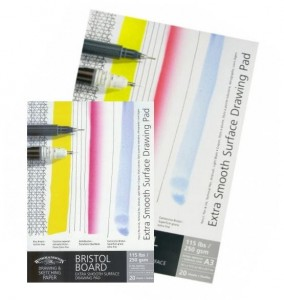 Blok rysunkowy Winsor&Newton Extra Smooth Surface Drawing Pad 21x29,7